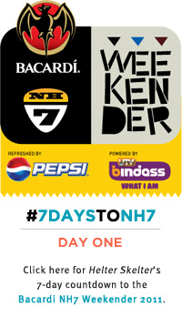 Helter Skelter: 7 Days to NH7 Day One