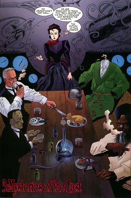 Helter Skelter: The League of Extraordinary Gentlemen