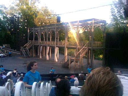 Helter Skelter: Shakespeare in the Park