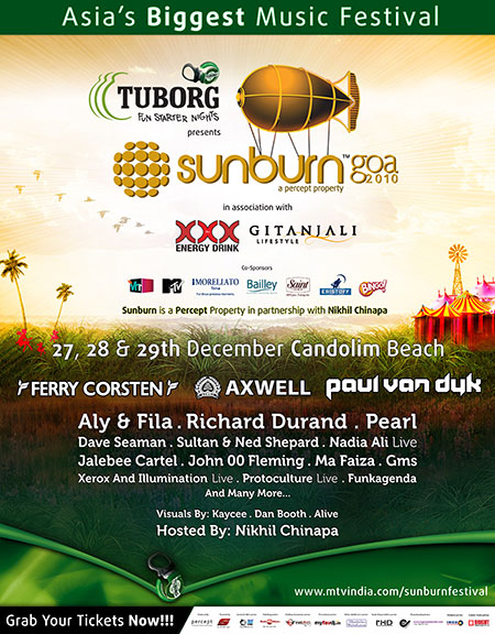 Helter Skelter: Sunburn 2010