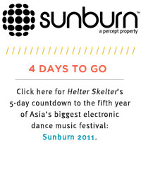 Helter Skelter: Day Two Sunburn Countdown