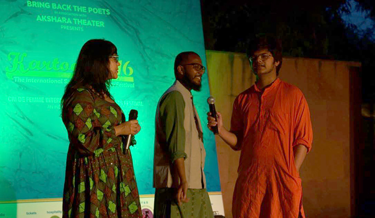 Bring Back the Poets Delhi
