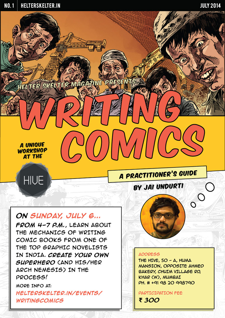 Writing Comics: A Helter Skelter Workshop