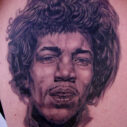 Jimi Hendrix portrait by Larry Brogan