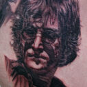 John Lennon portrait by Darrin White